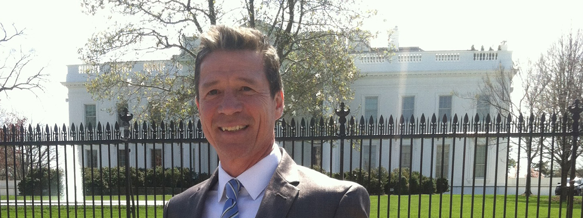 DWRC Director Dr. Gerald McAdams Kauffman was invited to represent Delaware and the University of Delaware at the White House Water Summit on World Water Day on March 22, 2016