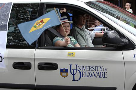 250th Anniversary of City of Newark Charter Parade, April 2008Author: Jon CoxCopyright: ©2008 University of Delaware