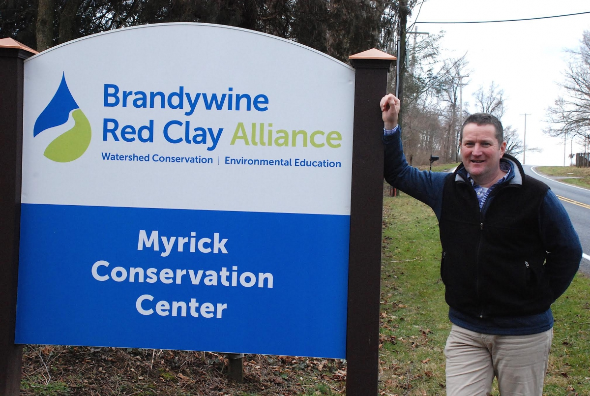 Andrew Homsey elected to Board of Directors for Brandywine Red Clay Alliance, Feb. 2017