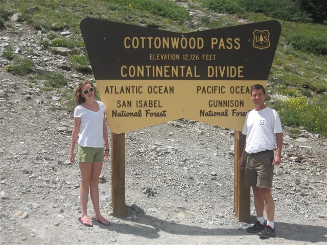 Continental Divide, Aug. 2011