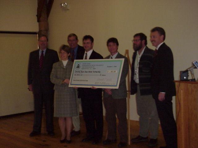 EPA $1 Million Targeted Watershed Grant Ashland, DE, Dec. 2003