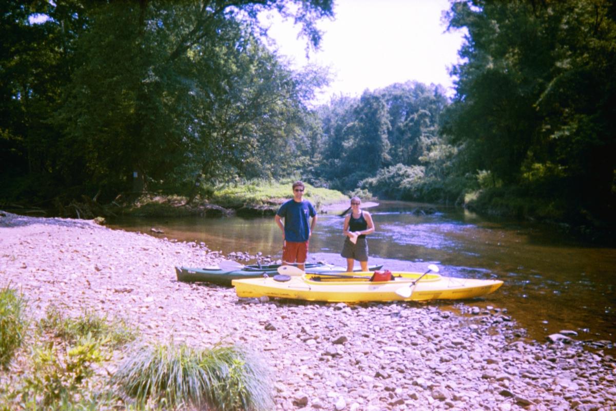Field Reconnaissance  White Clay Creek, Aug. 2004