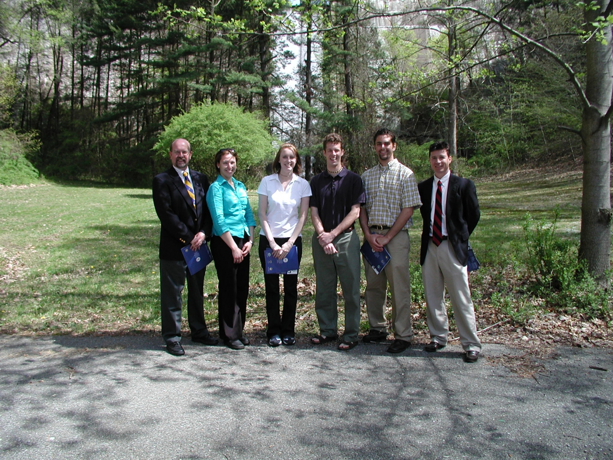 Gov. Minner Press Conference Hoopes Reservoir, April 2003