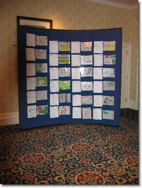 Student entries at the Delaware GIS Conference 2004
