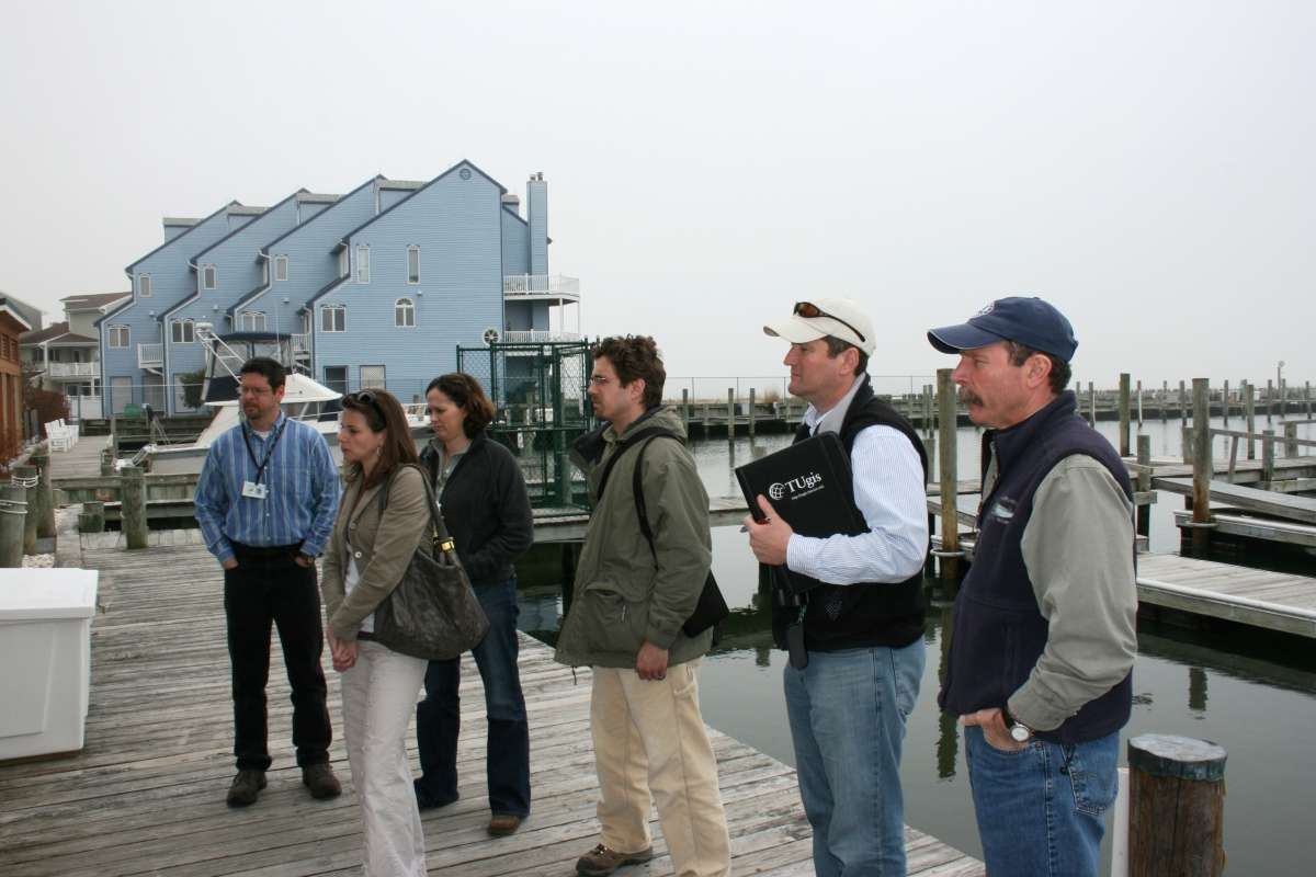 Inland Bays Field Reconnaissance with Martha Narvaez and Andrew Homsey, April 2009