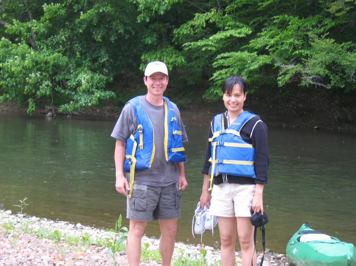 Jerry Kauffman at Brandywine Creek Field Reconnaissance, May 2006