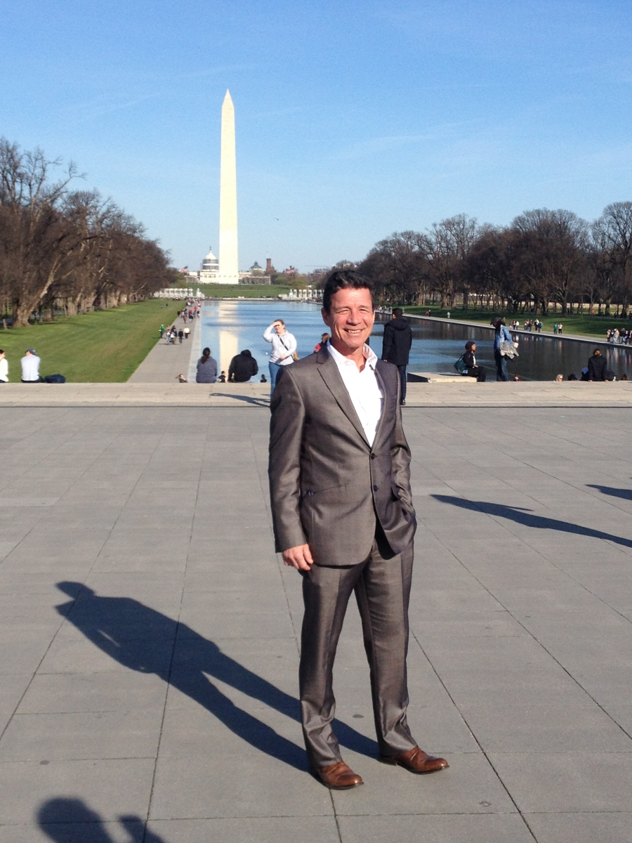 Jerry Kauffman attends White House Water Summit, March 2016