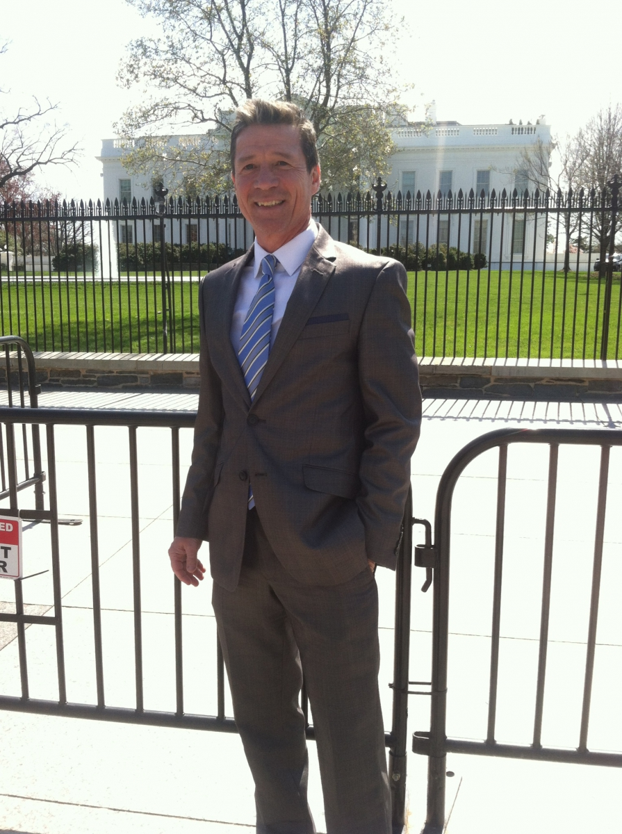 Jerry Kauffman invited to White House Water Summit, March 2016