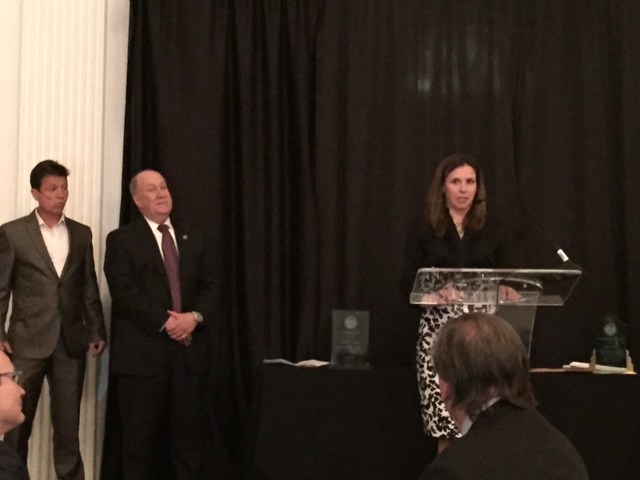 Martha Narvaez receives WRADRB professional award Phila. PA Apr 2015