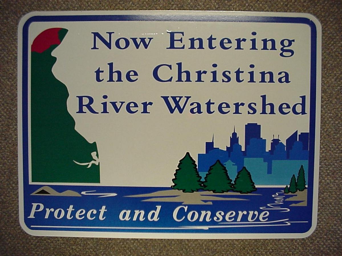 Now entering the Christina River Basin, Feb. 2002