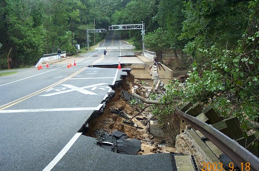 Tropical Storm Henri Red Clay Creek, DE, Sept. 2003