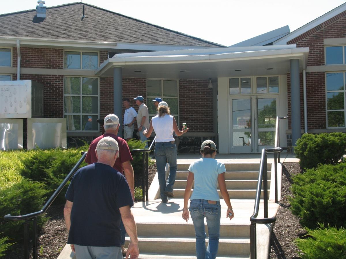 Woodlawn Library Wilmington, DE, Sept. 2008