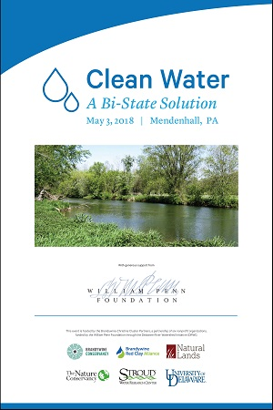 Brandywine-Christina Water Forum, May 3, 2018