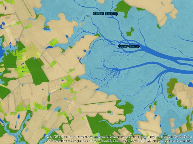 DE NVCS Web Map