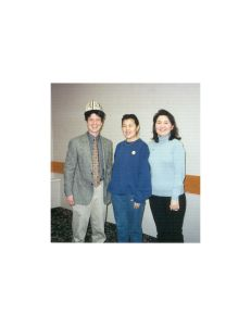 Gerald Kauffman with Kyrgyzstan Women Engineers Delegation Jan 2001