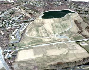 3-D rendering of Newark Reservoir Oct 2008.PNG