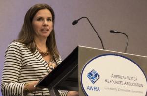 AWRA President Martha Narvaez Denver, CO Nov 2015