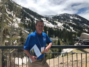 DWRC Director Dr. Gerald Kauffman elected to the Board of Directors of the Universities Council on Water Resources (UCOWR) along Little Cottonwood Canyon, Utah (June  11, 2019)