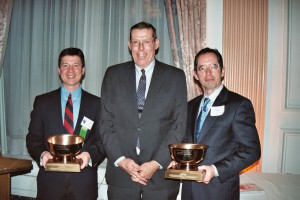 Jerry Kauffman and Kevin Donnelly received WRADRB Baxter Award Phila, PA Apr 2004