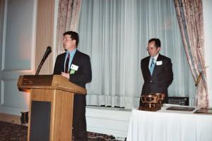 Jerry Kauffman speaks at WRADRB annual dinner Apr 2004