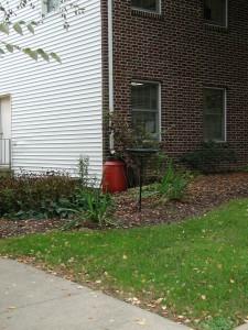 UD rain barrel Oct 2004