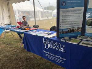 University of Delaware Water Resources Center glad to support UD Coast Day along the Atlantic Ocean and Delaware Bay in Lewes, Del. on Oct 6, 2019